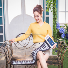 88 keys folding musical instrument piano roll up portable silicone piano electronic piano for child and adult