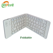 Light weight mini size bluetooth foldable keyboard for 7 inch tablet pc