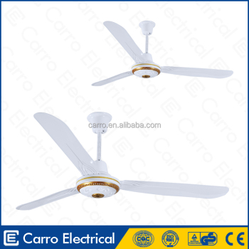 Foshan Carro 36W ac dc double use 12v dc ceiling fans