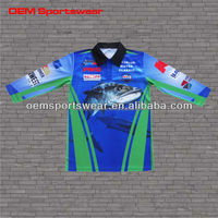 wholesale 100% polyester custom long sleeve quick dry fishing shirts with bream fish pattern