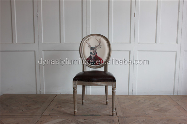 wooden <strong>antique</strong> high back natural <strong>oak</strong> dining chair designs furniture in dining room