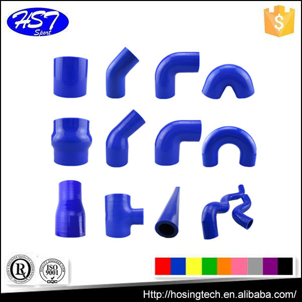 high temperature resistance flexible silicone radiator hose