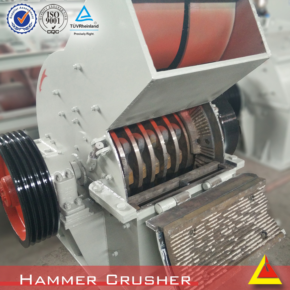 Hammer Crushing Stone : Construction machin rock hammer mill crusher buy