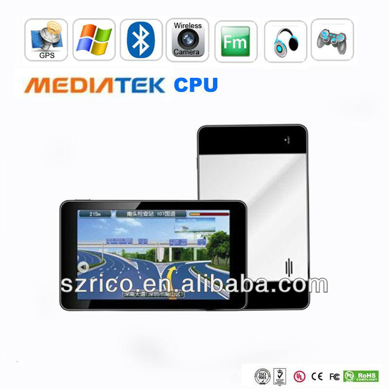 7 inch car gps navigation software with factory good price