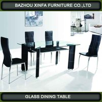 living room furniture centre top glass dining table fixing