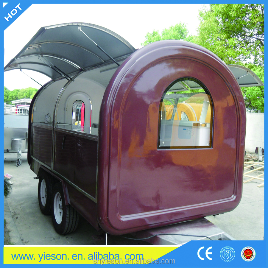 mobile cooking vans for pizza concession cart kiosk / candy machine with cart machine / churros food kiosk outdoor