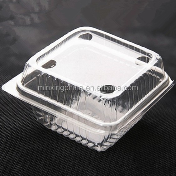 High quality Mushroom Container Blister Clamshell Packaging For Fruit with best price