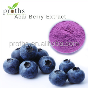 Dietary Fiber 4:1 5: 1 Acai Berry Fruit Powder /Acai Extract