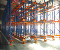 commercial radio shuttle pallet runner rack system