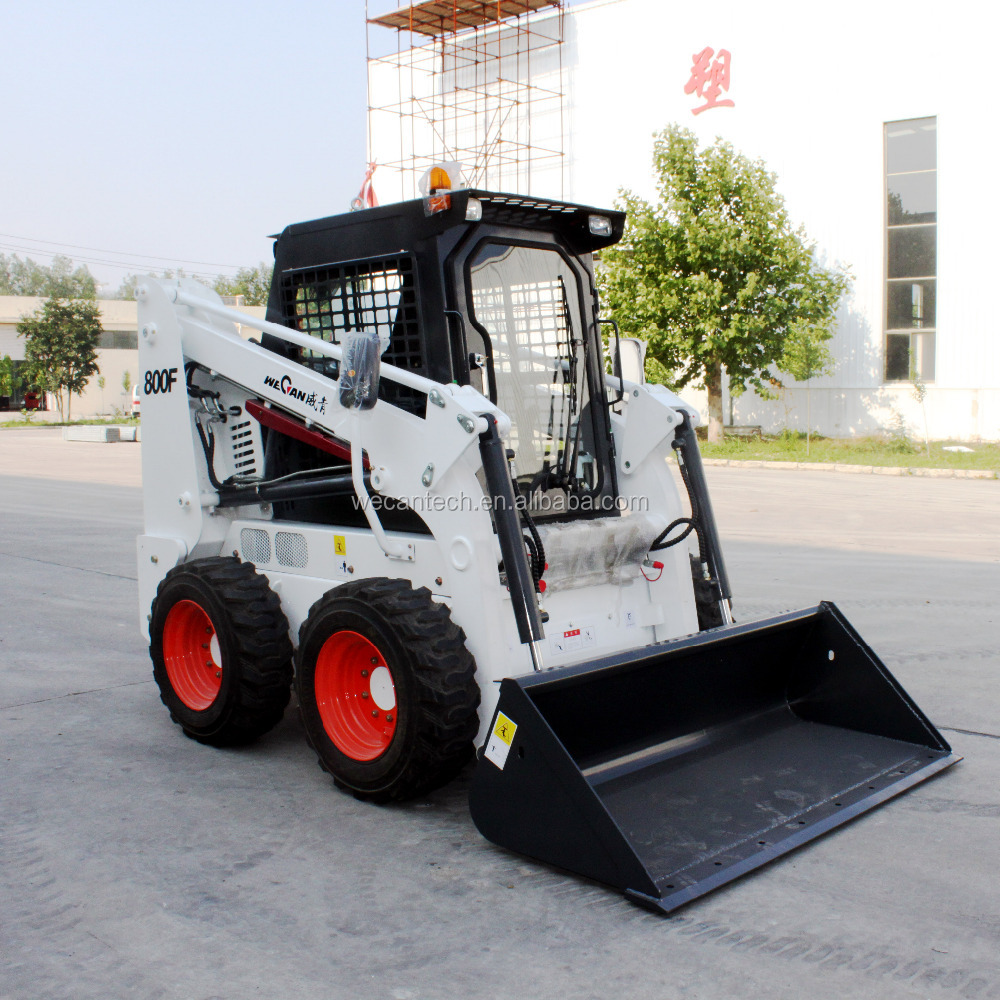 Chinese skid steer loader WT800F WECAN new brand in 2016