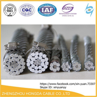 100 sq mm Aluminum Conductor Steel Reinforced acsr dog conductor price list