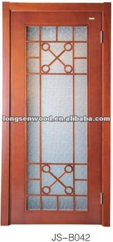 Interior Wood Glass Sliding Door