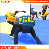 fun Adult interactive inflatable games Wedgie Game