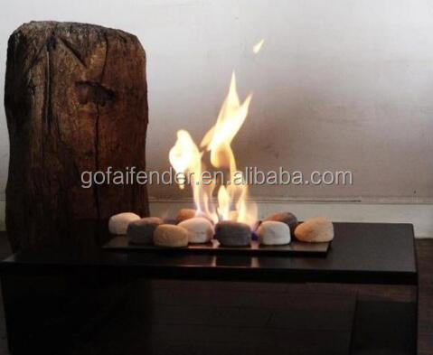 Gas Log, ceramic log for gas fires, fireplace, fire pit