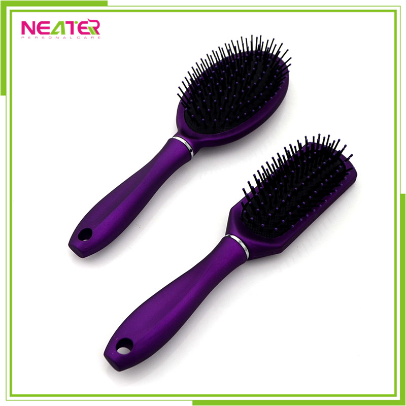 hair brushes spray painting plastic tangle hair brushes buy. Black Bedroom Furniture Sets. Home Design Ideas
