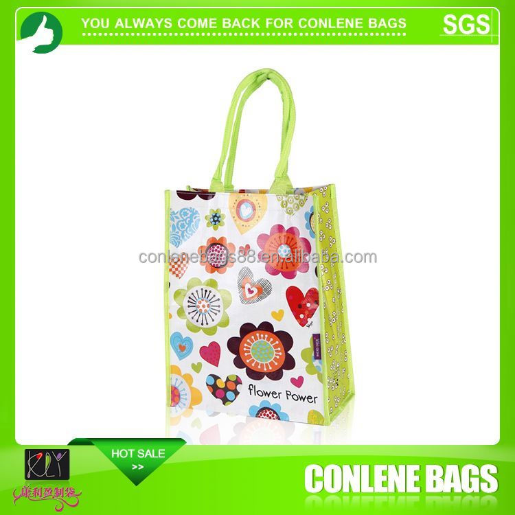 Matte Laminated Euro Tote Bag
