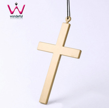 Halloween party show supplies cross father nuns priest dedicated plastic crucifix role acting play