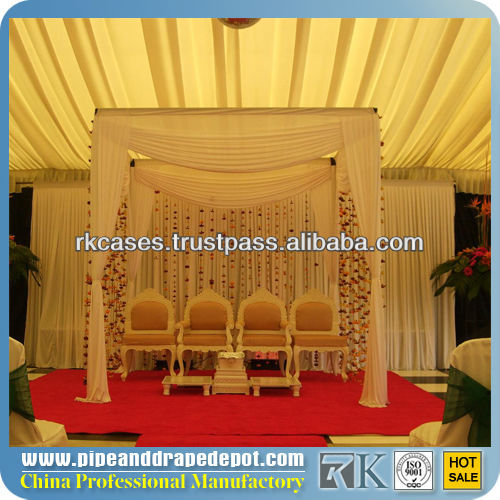 RK inflatable wedding tent, pipe and drape system for wedding, show events