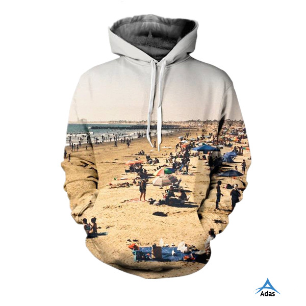 hot selling 3D printed customized unisex hoodies