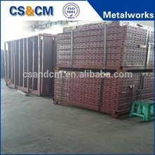Sheet metal board/case/board fabrication