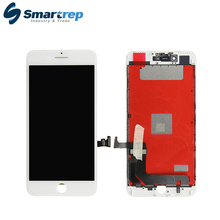 Mobile phone LCD parts for iPhone 7 plus LCD touch screen with camera and home button