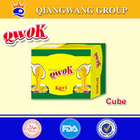 QWOK -Super Quality 10g seasoning bouillon cube chicken cube spices cube