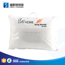 Printing Plastic Pillow Bag with Rope Handle