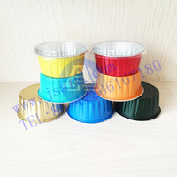 Aluminum foil fast food containers with lids