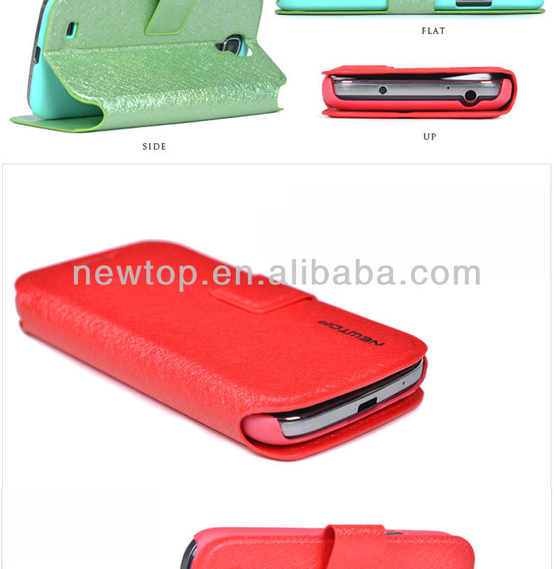2014 New arrival stylish leather case for mobile phone