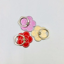 Hot selling custom 360 degree spinning metal mobile phone finger ring holder