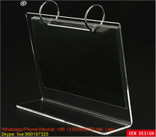 Acrylic desktop calendar stand with siderosphere