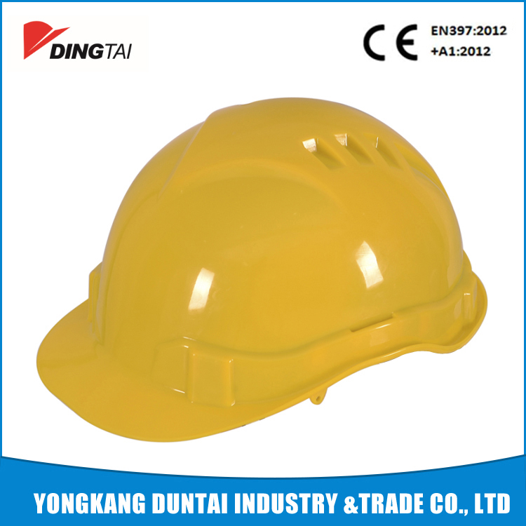 CE Standard Air Vents Safety Caps ABS European Style Safety Helmet