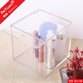 Clear Acrylic Storage Box With Slide Cover For Gift