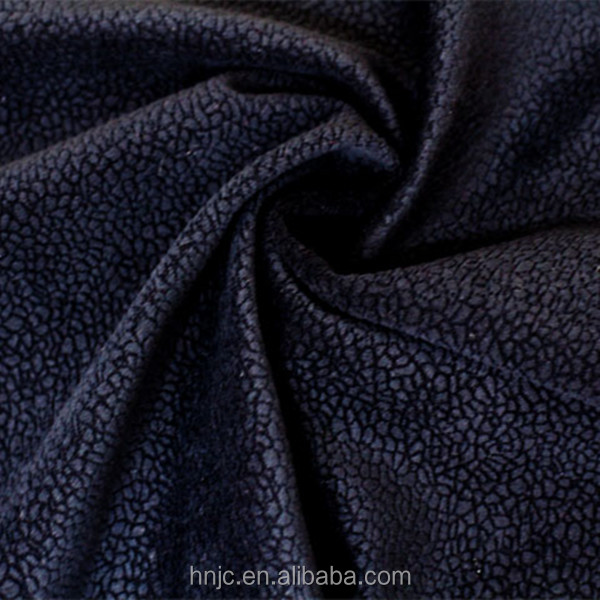 Warp knitted burnout velvet fabric for sofa