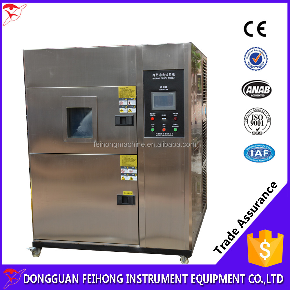 Thermal Shock Chamber/Temperature Cycling Environmental Thermal Shock Test Chamber