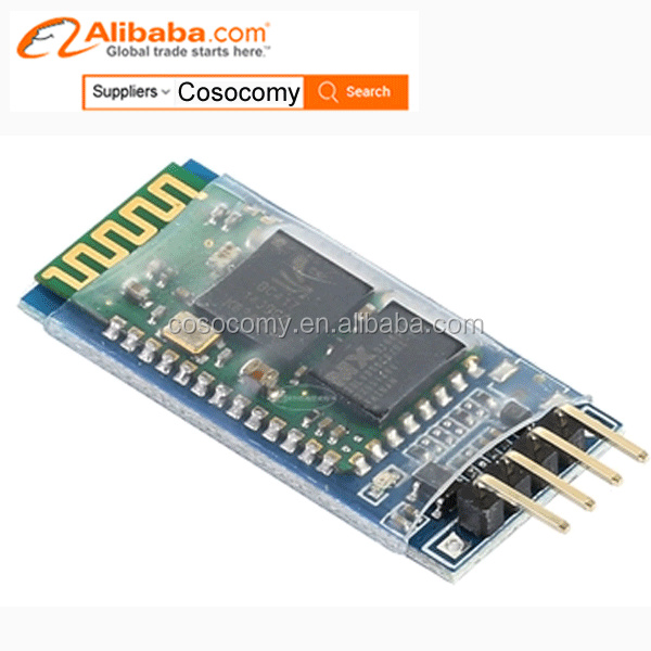 HC-06 Bluetooth Module RF Transceiver Module HC-06 RS232 4 Pin Serial for Arduinos UNO R3 kit
