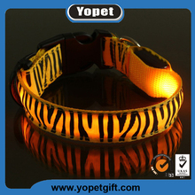 Light Up Led Dog Collar Pet Circle