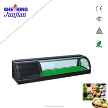 Countertop Single Layer 1.8 Meter Sushi Showcase Display Refrigerator