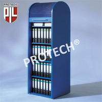 PVC roller shutter of furniture, office furniture