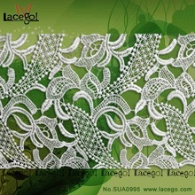 High Quality Heavy African Lace Fabrics Swiss Laces In Switzerland