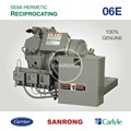 New 06DR337 Carlyle Compressor, 06DR316 06DR541 06D Carlyle Refrigeration Compressor for Ice Cream Cold Storage Room