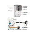 Wireless intercom door phone video door bell for apartment safety with night vision