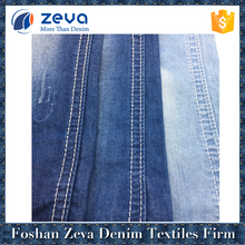 Suppliers hot sale light 100% cotton denim fabric for shirt to pakistan
