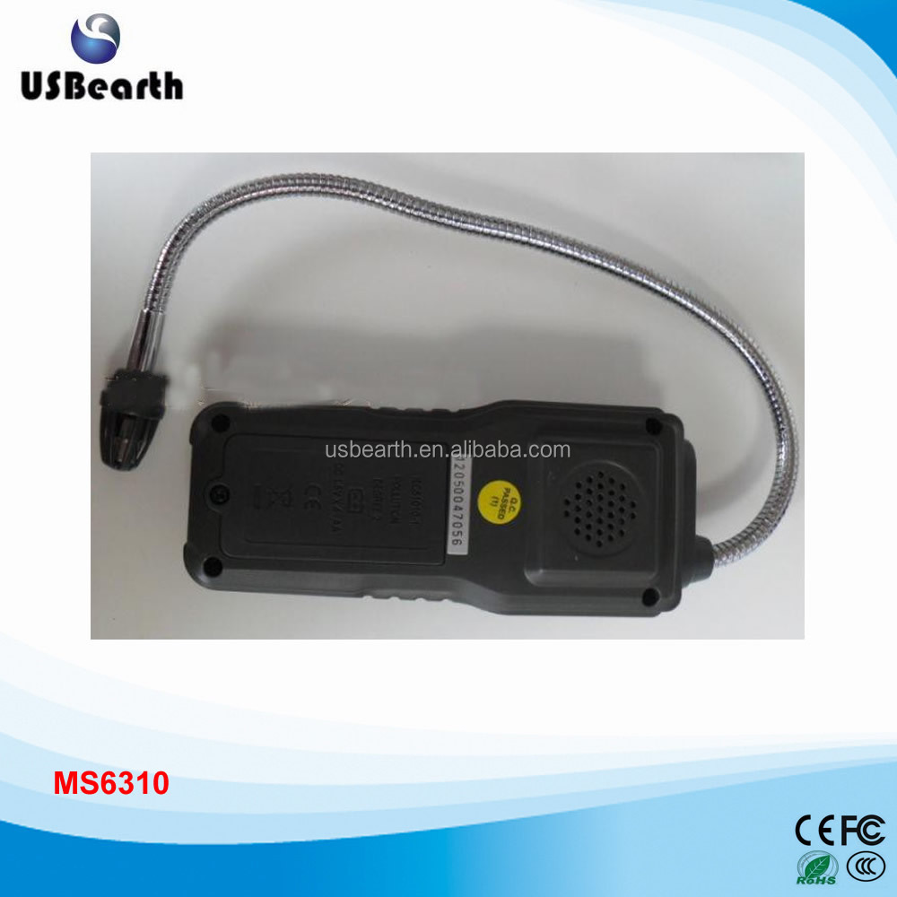 High Sensitivity Combustible Gas Detector Methane Propane Gas Leak Detector,Multi-gas Tester With Sound Light Alarm MS6310