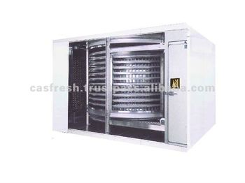 Spiral Quick Food Freezer with CAS Function (1000Kg/H Type)