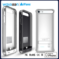 power bank battery skin for iphone, MFI original powercase for iPhone 5, extended battery case for iPhone 2400mah