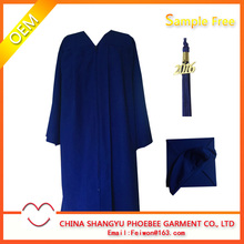 Adult Matte Graduation Gown Disposable
