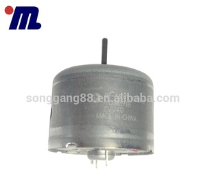 mini brushed DC motor for turntable RF-330TK with high speed Made in China