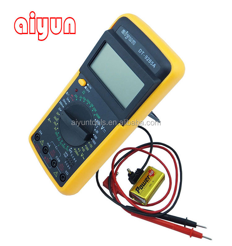 china factory wholesale digital multimeter dt9205a best buy top quality low price
