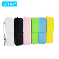 Sliding Plastic Power Bank 2600mah Mobile